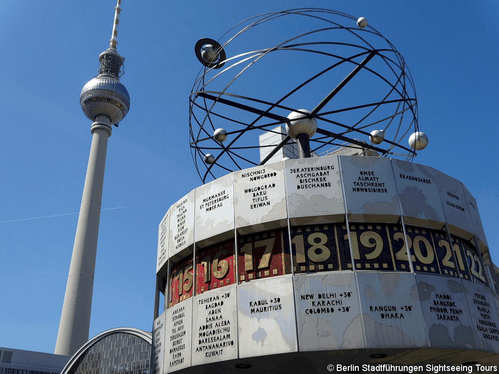 Berlin Tour på Alexanderplatz