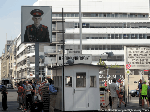 Berlin Tour à Checkpoint Charlie